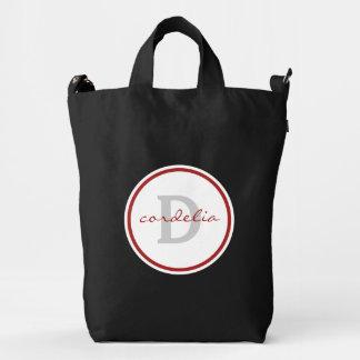 Red Monogram Duck Bag