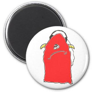 red monster headphones refrigerator magnets