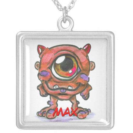 Red Monster Necklace