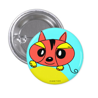 Red Monster Pet Button