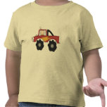 Red Monster Truck Tshirts and Gifts