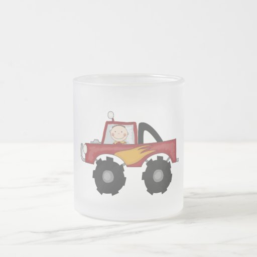 Red Monster Truck Tshirts and Gifts Mug