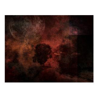 Red Moon 2 Postcard