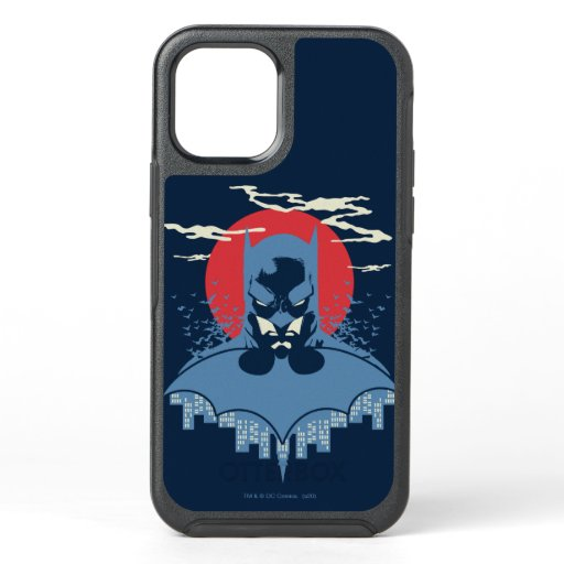 Red Moon Batman With Logo OtterBox Symmetry iPhone 12 Case