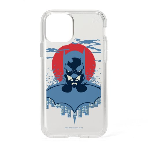 Red Moon Batman With Logo Speck iPhone 11 Pro Case