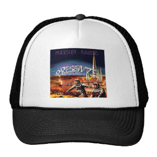 Red Moon Landing Cover Mesh Hats