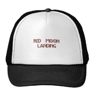 Red Moon Landing Hat