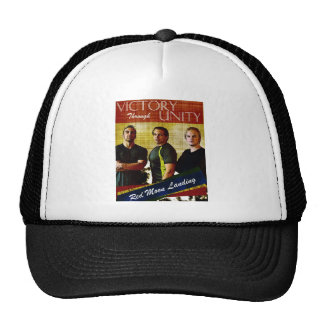 Red Moon Landing Victory Hat
