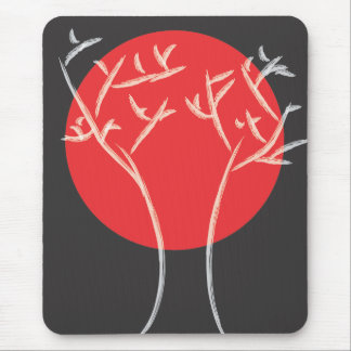 Red Moon Mousepad