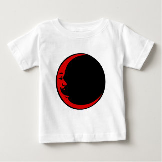 Red Moon Purple Moon Green Moon White Laughing Man Baby T-Shirt