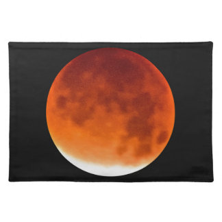 Red Moon Risiing Cloth Placemat