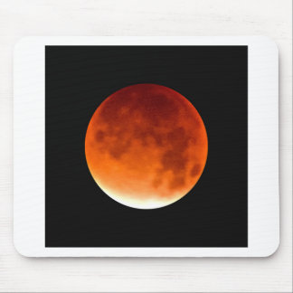 Red Moon Risiing Mouse Pad