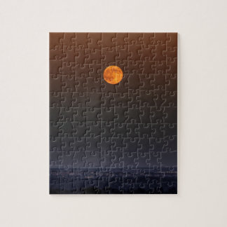 Red Moon Rising Jigsaw Puzzles