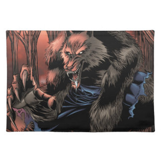Red Moon Werewolf Placemat