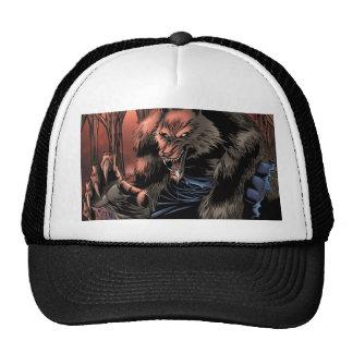 Red Moon Werewolf Trucker Hat