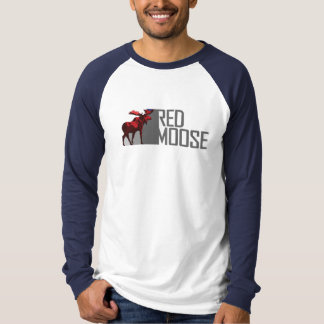 RED MOOSE LOGO - **Add your Slogan! T-shirt