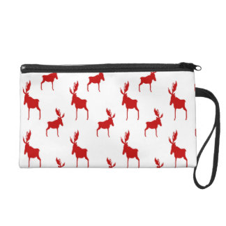 Red Moose Wristlet Purse