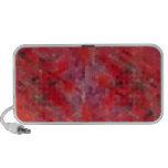 Red Mosaic Tiles Travelling Speaker