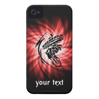 Red Motocross iPhone 4 Cases