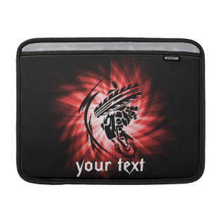 Red Motocross Sleeve For MacBook Air