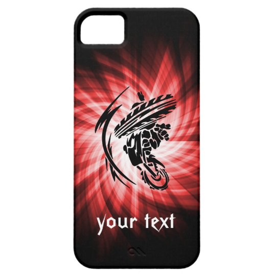 Red Motocross iPhone SE/5/5s Case