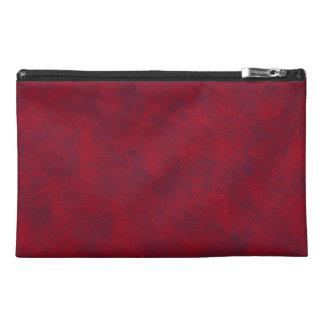 Red Mottled Travel Accessory Bag 101I