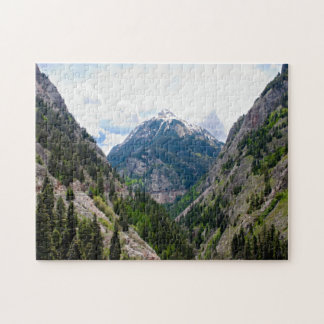 Red Mountain Pass Jigsaw Puzzle