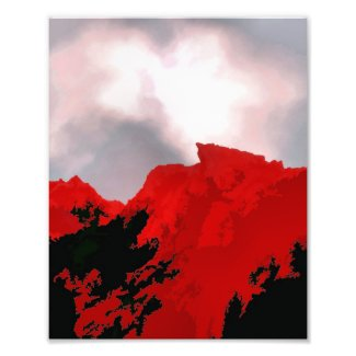 RED MOUNTAIN photoenlargement