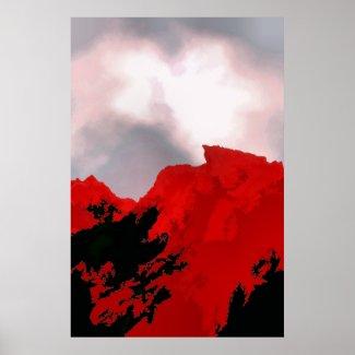 RED MOUNTAIN print