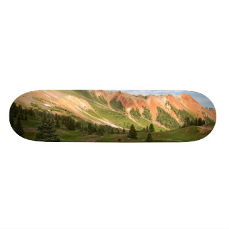 Red Mountain Reflection Skate Board Deck