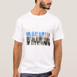 Red Mountains on Million Dollar Highway Shirt