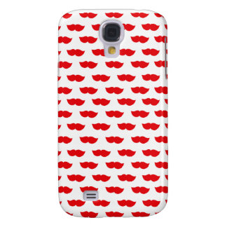 Red Moustaches Samsung Galaxy S4 Covers