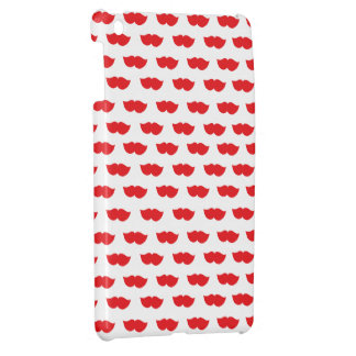 Red Moustaches Cover For The iPad Mini