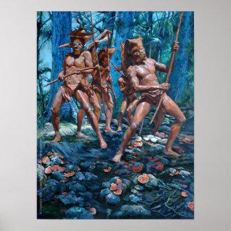 Red Mudmen Poster