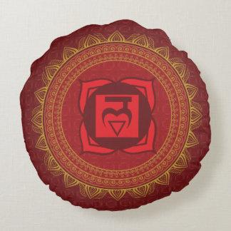 Red Muladhara, 1st (Root) Chakra Pillow