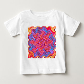 Red multi blotch baby T-Shirt