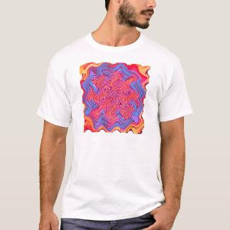Red multi blotch T-Shirt