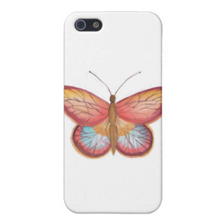Red Multicolor Butterfly case iPhone 5 Cover