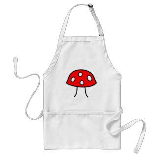 Red Mushroom Apron