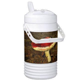 Red Mushroom Beverage Cooler