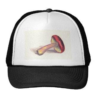 Red Mushroom Trucker Hats