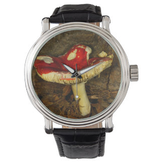 Red Mushroom Watch