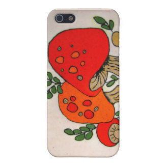 Red Mushrooms ~ case Case For iPhone 5