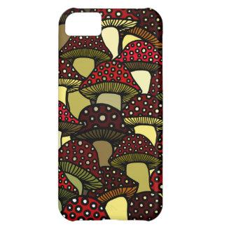 Red Mushrooms Phone Case Case For iPhone 5C