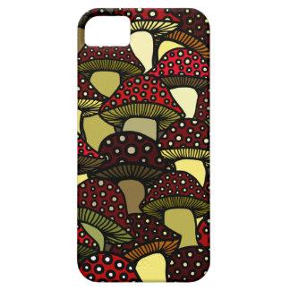 Red Mushrooms Phone Case iPhone 5 Case