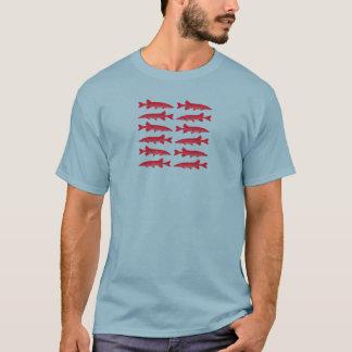 Red Muskie Fish T-Shirt