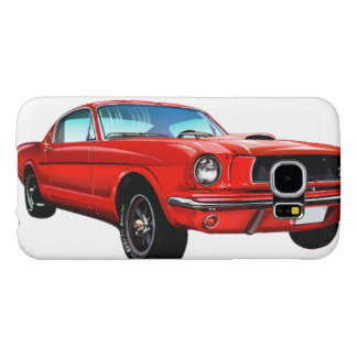 Red Mustang Galaxy S6 Case