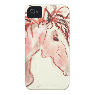 Red Mustang iPhone 4 Case-Mate Case