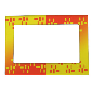 Red Mustard Design Magnetic Frame