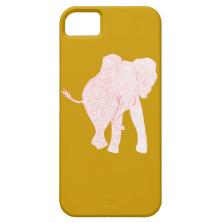 Red/Mustard iPhone 5 Case